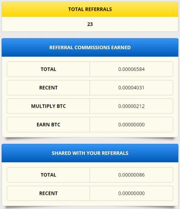 Free bitcoin referrals