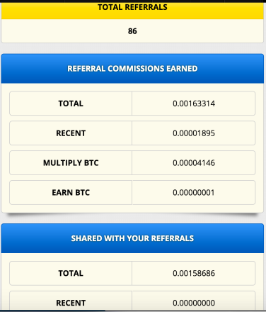 Getting free bitcoins